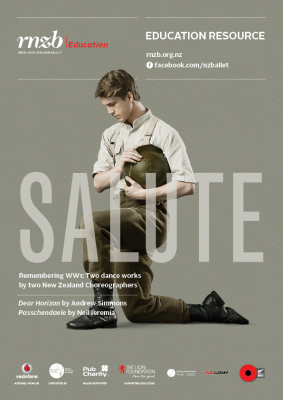 Image of Salute : Two Dance Works By Two New Zealand Choreographers (book & 2 Dvd Boxed Set)
