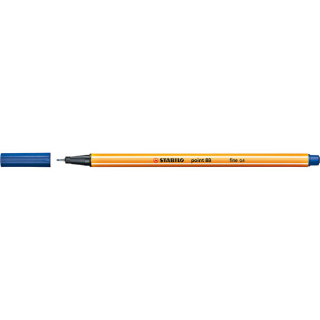 Image of Pen Stabilo Point 88 Fine 0.4mm 88/41 Blue