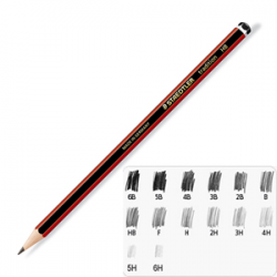 Image of Pencil Staedtler Tradition 2b