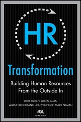 Image of Hr Transformation : Building Human Resources From The Outside In