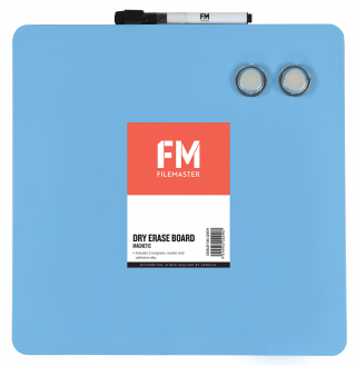 Image of Whiteboard Fm Magnetic 290 X 290mm Blue