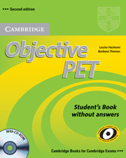Image of Objective Pet : Self Study Pack Students Book With Answers With Cd-rom & Audio Cds (3)