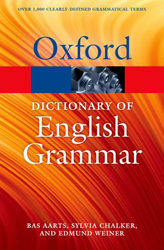 Image of Oxford Dictionary Of English Grammar