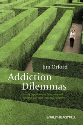 Image of Addiction Dilemmas : Family Experiences From Literature And Research And Their Lessons For Practice