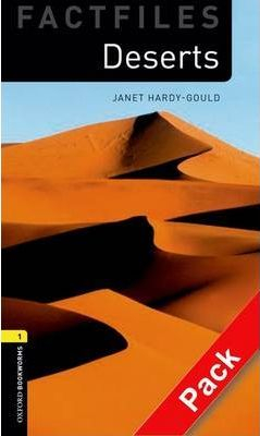 Image of Deserts : Factfiles : Oxford Bookworms : Stage 1 : Audio Pack