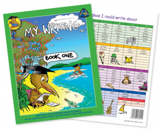 Clever Kiwi My Writing Book One