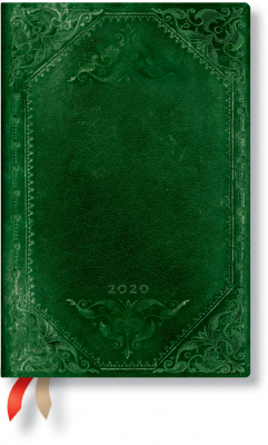 Image of Velvet Cape 2020 Diary Week At A Time Mini Horizontal Format