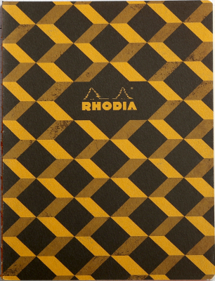 Image of Notebook Rhodia Heritage Raw Bound B5 Escher Black