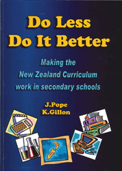 Image of Do Less Do It Better Making The New Zealand Curriculum Work In Secondary Schools
