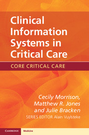 Image of Clinical Information Systems In Critical Care