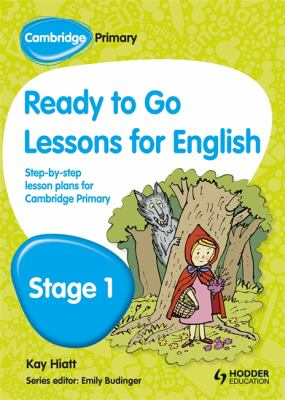 Image of Cambridge Primary Ready To Go Lessons For English Stage 1