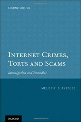 Image of Internet Crimes Torts And Scams : Investigation And Remedies