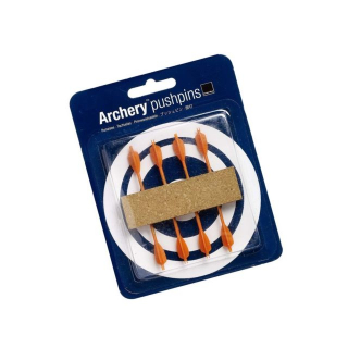 Image of Pushpins Archery Orange