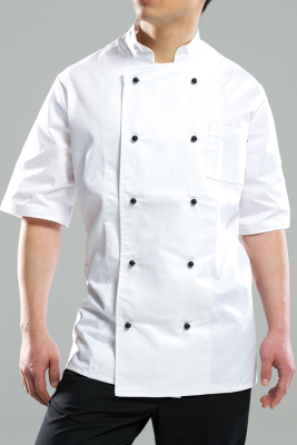Image of Chefs Jacket Short Sleeve Xs