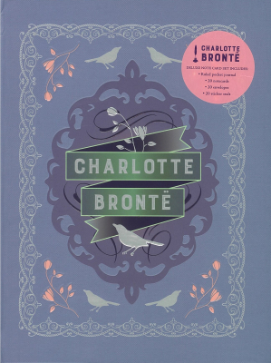 Image of Charlotte Bronte Deluxe Note Card Set : (with Keepsake Book Box)