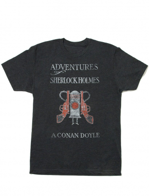Image of Adventures Of Sherlock Holmes : Unisex X Large T-shirt