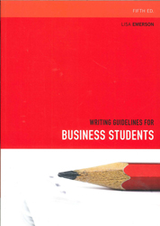Image of Writing Guidelines For Business Students