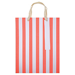 Image of Neon Striped Gift Bags : Set Of Three