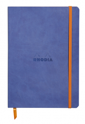 Image of Notebook Rhodiarama Softcover A5 Dot Sapphire