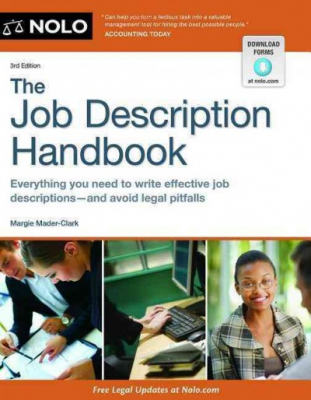 Image of Job Description Handbook