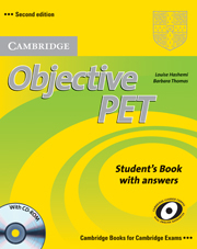 Image of Objective Pet : Students Book With Answers With Cd-rom