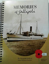 Image of Memories Of Gallipoli : The Autograph Books Of Sister Florence Duckett