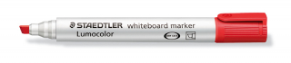 Image of Whiteboard Marker Staedtler Lumocolor Chisel Red