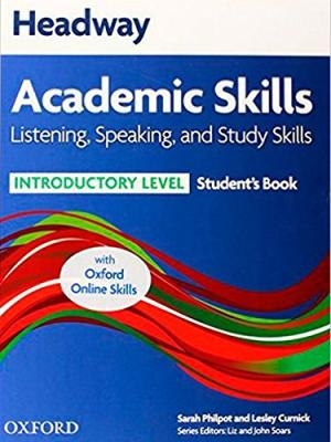 Image of Headway Academic Skills : Introductory : Listening Speaking And Study Skills Student's Book + Online Skills Programme