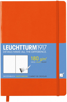Sketchbook Leuchtturm 1917 Medium Orange