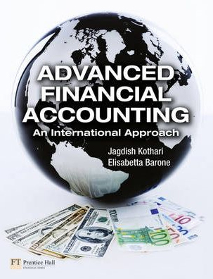 Image of Advanced Financial Accounting : An International Approach