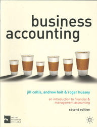 Image of Business Accounting : An Introduction To Financial And Management Accounting