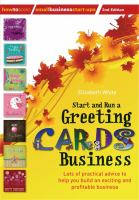 Image of Start And Run A Greetings Cards Business