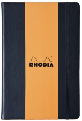 Image of Notebook Rhodia Webnotebook A6 Lined Black