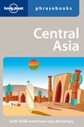 Image of Central Asia Phrasebook Lonely Planet
