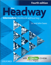 Image of New Headway : Intermediate : 4th Edition : Workbook Without Key + Ichecker Cd-rom