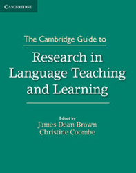 Cambridge Guide To Research In Language Teaching And Learning