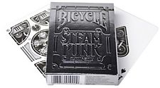 Image of Playing Cards : Bicycle Silver Steampunk